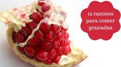 12 razones para  comer granadas