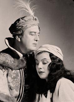 """Helge Rosvaenge + Irmgard Seefried   """" Turandot """" Wien 1948"""