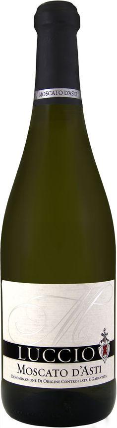 Luccio Moscato d'Asti, a Moscato Di Asti White wine from Italy, Asti, Piedmont DOCG by Prestige Wine Group