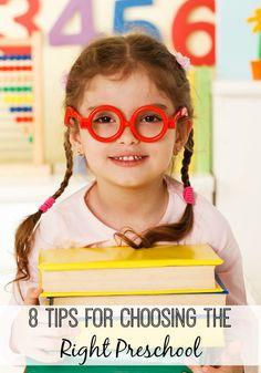 8 Tips for Choosing the Right Preschool