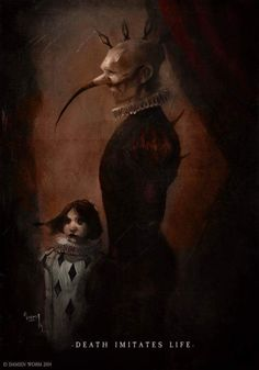 Death Imitates life By Damien Worm