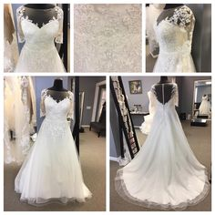 Fuller figured brides can get beautiful plus size wedding gowns custom made to order to their exact style, taste and personality. We provide elegant #plussizeweddingdresses to curvy brides that they can not only customize but also afford. We can make #inspiredweddingdresses too that are based on couture designs but will cost much less. See other options and get info on pricing and our process with plus size wedding gowns at www.dariuscordell.com/