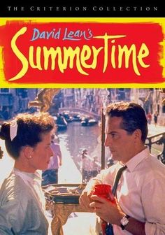 Summertime (1955) Dreams of romance for American spinster Jane Hudson (Katharine Hepburn) become a bittersweet reality when she meets a handsome but married antiques dealer (Rossano Brazzi) while vacationing in Venice, Italy. David Lean directed this sensitive portrait of an independent woman who finds that, even in a beautiful European city, her sense of loneliness is unavoidable, and her initial disgust with the idea of an illicit love affair doesn't last.