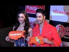 Varun Dhawan & Alia Bhatt At Nickelodean Kids Choice Awards 2016.