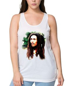 Bob Marley, Tank Tops, Celebrities, Music, Instagram Posts, Clothing, T Shirt, Products, Women