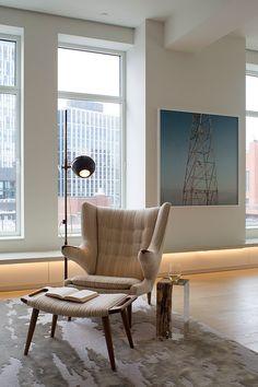 Роскошные апартаменты в Нью-Йорке | Дизайн интерьера, декор, архитектура, стили и о многое-многое другое