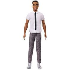 Meet The New Crew of Fashionistas! Check out the Ken Fashionistas Doll 10 Classic Cool - Original (FNH42) right now at the official Barbie website!