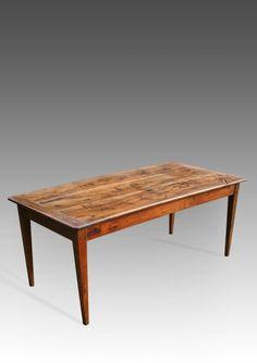 KNOTJUSTFURNITURE.com Rustic Wooden Harvest Tables ...