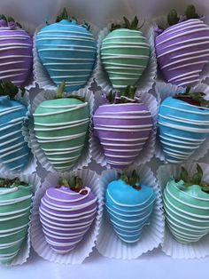 Chocolate Covered Strawberries:  Under The Sea Party