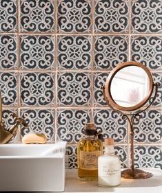 Bathroom wall tiles at Topps Tiles. Available in a range of colours and materials. Loft Bathroom, Upstairs Bathrooms, Bathroom Ideas, Cloakroom Ideas, Family Bathroom, Bathroom Inspiration, Basin Vanity Unit, Pony Wall, Downstairs Toilet