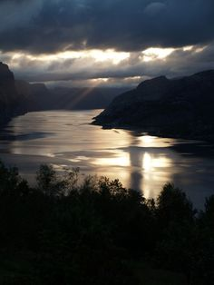 Lysefjorden - early morning light on a clouded day! July 16th 2015