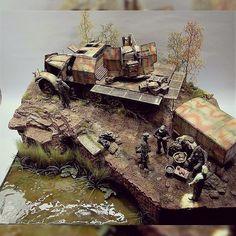 Nice diorama from MartinGiangreco #scalemodel #plastimodelismo #miniatura #miniature #maqueta #maquette #modelismo #modelism #modelisme #miniatur #plasticmodel #hobby #diorama #plastickits #usinadoskits #udk