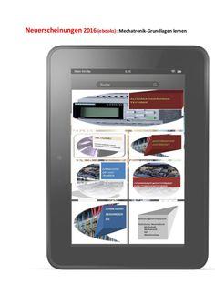 Mechatronik-newsletter im fruehjahr 2016: ebook-neuerscheinungen technisches englisch Mechatronik + Begriffe-Erklaerungen
