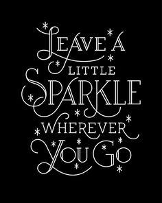 sparkle!  @Kirsten Wehrenberg-Klee {One Tough Mother Blog}