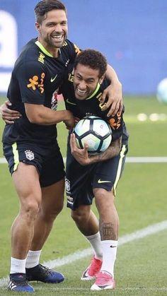 Neymar & Diego Ribas❤️⚽️