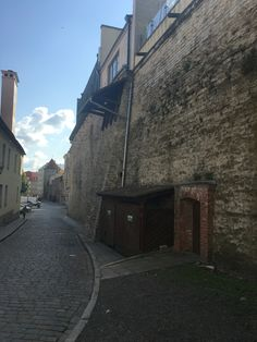 Old town wall. One of them at least, the town grew and they had to build a second one.  Tallinn, Estonia