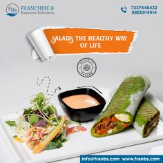 FBS is the most reliable platform which provides the top franchise opportunities in India. We offer franchise business opportunities in various businesses which you can browse through based on the category and brand. Food Poster Design, Menu Design, Veg Thali, Franchise Business Opportunities, Food Banner, Food Advertising, Salad Bar, Fresh Rolls, Product Design