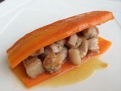 Zanahoria rellena de carne