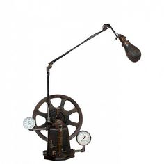 Industrial Articulated Desk Lamp