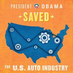 PResident Obama Saved the U.S. Auto Industry