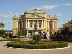 Theatre of Ivan pl. Zajc, Rijeka