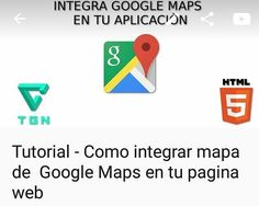 Tutorial #googlemaps API  Copy / paste => https://youtu.be/vneGdGlFuS0  #Code #WebDeveloper #google #coding #CodeNight #Youtuber #youtube #microsoft #html5 #javascript #API #Maps #technology #Tech #education #emprendedores #entrepeneur #Sistemas #informatics #DevelopersLife #codelifestyle #geolocation #Programacion #programmer #Programming #tutorials