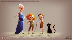 DEISIGN: Character Design Project Walkthrough | Client: ELKAR Publishing