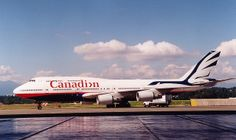 """C-GMWW in the last Canadian Airlines livery before takeover. Aircraft was named """"Maxwell W Ward"""" Pacific Airlines, Canadian Airlines, Boeing 747 400, Boeing Aircraft, Air North, Tupolev Tu 144, Air Transat, Jumbo Jet, International Airlines"""