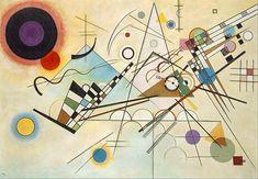 Stretched Canvas Print: Composition VIII by Wassily Kandinsky : Kandinsky Art, Wassily Kandinsky Paintings, Famous Art, Painting Edges, Art Studies, Oil Painting Abstract, Stretched Canvas Prints, Modern Art, Fine Art Prints