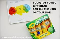 Snugglebug University: MORE Book/Toy Combos for kids ages 3-6