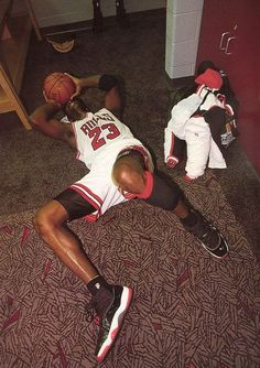 Michael Jordan Winning the NBA championship on Fathers day after the murder of his dad. One of the emotional moments in sports.