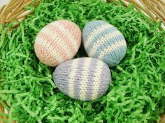 Knitting Patterns Galore - Easter Eggs