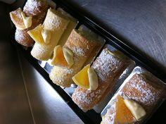 Mini lemon swiss rolls