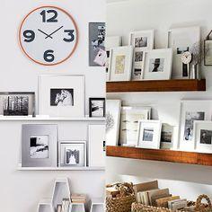 First-Apartment Decorating Essentials: splurge + save  shelves