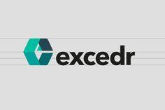 Excedr logo design 1 by Graham Smith Brand Identity Design, Logo Design, Creative Hub, Logo Branding, Logos, Case Study, Graham, A Logo, Brand Identity Pack