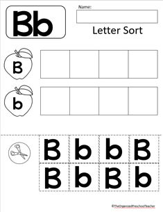 The ultimate Preschool/Pre-K letter of the week bundle! The perfect addition to any early learning classroom! Letter Find, Letter Of The Week, Letter B, Preschool Number Worksheets, Letter Tracing Worksheets, Kindergarten Sight Words List, Letter Sorting, Dot Letters, Do A Dot