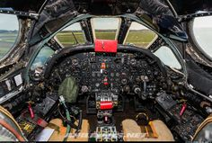 The cockpit of the legendary Avro Vulcan - Photo taken at Wellesbourne Mountford (EGBW) in England, United Kingdom on November Military Jets, Military Aircraft, Aircraft Instruments, V Force, Avro Vulcan, Stealth Bomber, Old Lorries, Fear Of Flying, Navy Aircraft