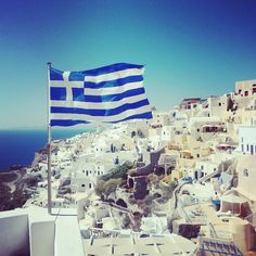 """See 1742 photos and 70 tips from 12063 visitors to Φηρά (Fira). """"Biggest village, and """"capital"""" of island. Places Around The World, Around The Worlds, Greek Isles, Future Goals, Santorini Greece, Greek Life, Travel Aesthetic, Greece Travel, San Francisco Skyline"""