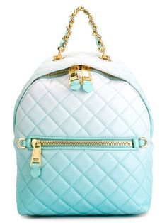 Shop Moschino quilted backpack in Paola from the world's best independent boutiques at farfetch.com. Shop 400 boutiques at one address.