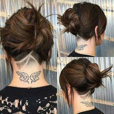 New craze... hair tattoos
