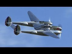 "WATCH: Lockheed P-38 Lightning ""fork-tailed devil"""