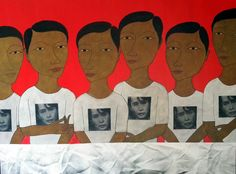 The Burmese Spring exhibition brings together recent work by 8 outstanding contemporary painters who are currently living in Burma. This exhibition runs from September 9th to 28th, 2014.