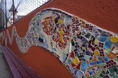 CPS Rainbow Serpent Mosaic 2014