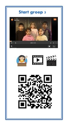 start groep 3 QR-kaarten Coding, Qr Codes, Teaching, Education, Digital, September, Apps, Amazon, Riding Habit