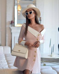 Fashion Mode, Suit Fashion, Look Fashion, Fashion Dresses, Womens Fashion, Elegant Outfit, Classy Dress, Classy Outfits, Chic Outfits