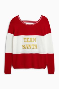 Are you part of team santa this Christmas? Then HERE if your ideal Christmas jumper ;)