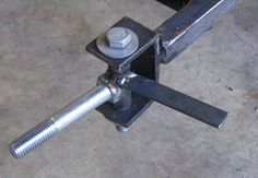 Go Kart Steering Plans - Tie Rod and Pitman Arm