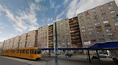 Collective housing - #architecture #googlestreetview #googlemaps #googlestreet #hungary #budapest #brutalism #modernism
