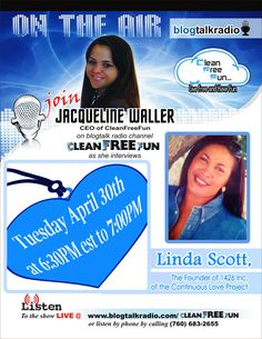 "Listen in as we speak with Linda Scott on  the ""Continuous Love"" project that is hosting it's 4th annual Tea Party, ""Lord! Guide Me To My Purpose"" #Florida, #Miami, #Ft.Lauderdale"