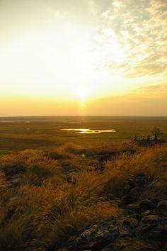 Ubirr sunset, Kakadu National Park, Northern Territory, Australia.